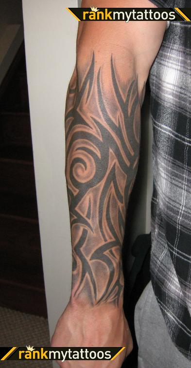 Tribal Tattoo Half Sleeves For Men