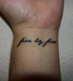 Pin by Pin Wrist Typing Tattoo