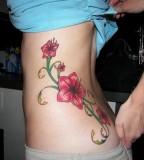 Female Tattoo Hibiscus Picture