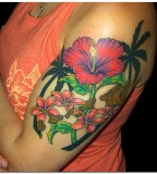 Cool Hibiscus Flower Tattoo Meaning Flower Tattoos
