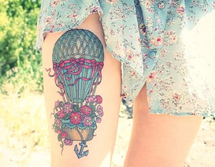 hot-air-balloon-tattoo-artist-unknown-1
