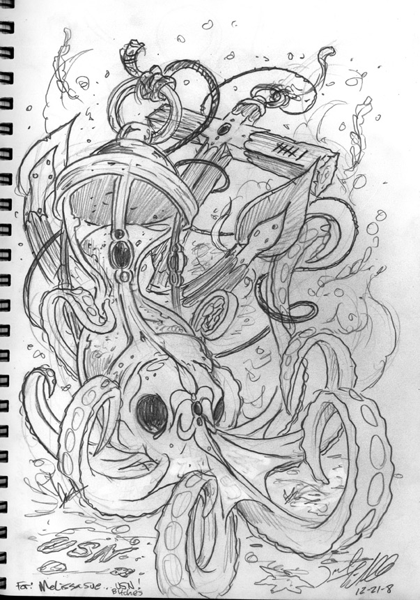 complcated hourglass sketch for tattoo design