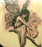 Immerse Yourself Into A World Of Magic With Fairy Tattoo