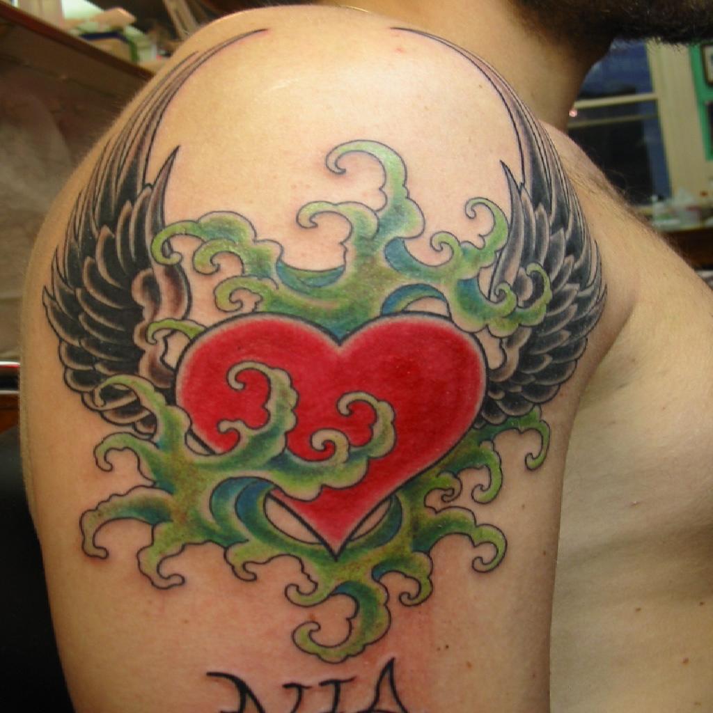 Inspirational Tattoos Designs Ideas And Meaning: Hummingbird-tattoos-meaning-heart-tattoos-tons-of