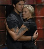Battlestar Galactica TV Series Couple Tattoo