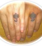 Finger Husband Amp Wife Matching Tattoos By Noah Baxter