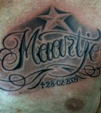 In Loving Memory Of Maartje Tattoo Design Picture