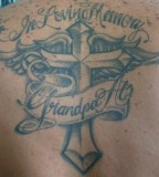 Wonderful In Loving Memory Grandpa Tattoo Design Picture