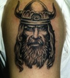 Viking Biceps Tattoos For Men
