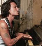 Johnny Depp Cool Tattoo Design