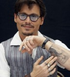 Johnny Depp Inner Arm Tattoos Styles