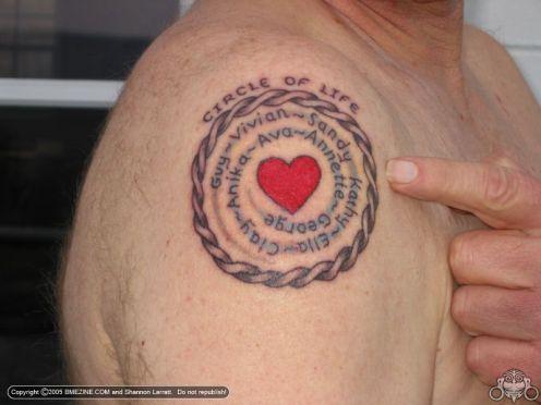 Parent Kids Name Tattoo Ideas On Arm Tattoomagz