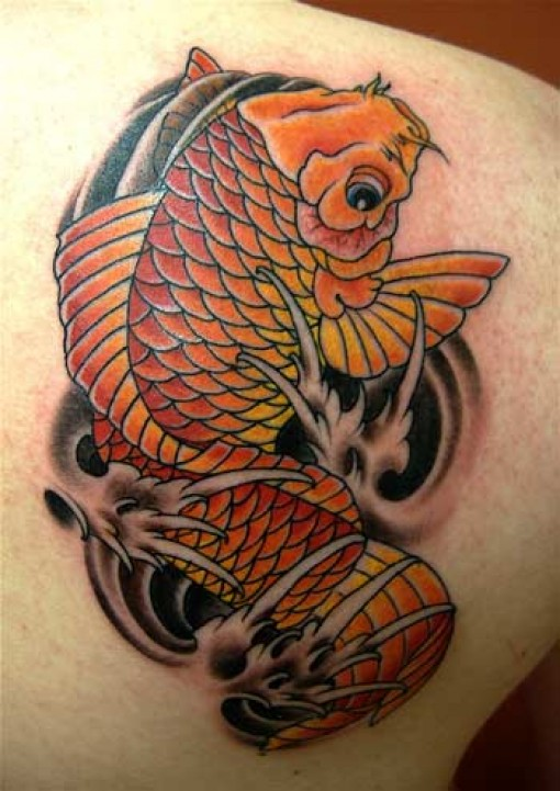 fashionable koi fish tattoo designs - tattoomagz