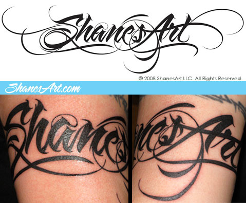 Different Lettering Styles For Tattoos By Bred Southern Tattoomagz