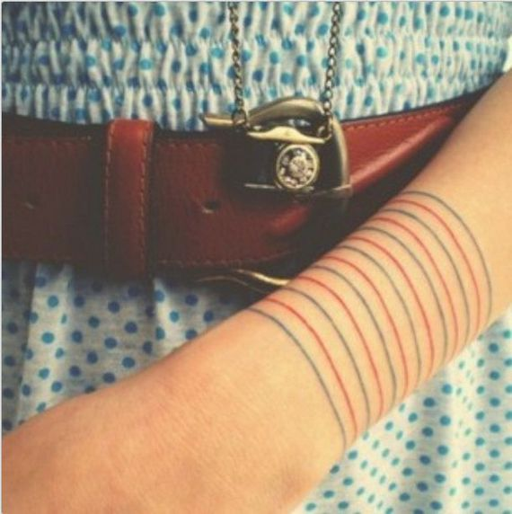 line tattoos for women