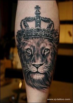 Lion King Tattoo Sample Tattoomagz