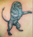 Ancient Lion Tattoos Design Pictures - Animal Tattoos