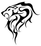 Tribal Lion Tattoo Designs for Women - Tribal Tattoos