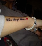 Awesome Live Laugh Love Tattoos