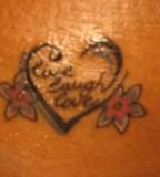 Live Laugh Love Tattoo Design Ideas