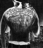 Black And White Tattoo Back Photo 1