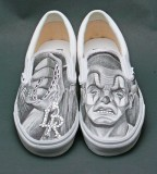 Drawings Gray Shoes Photo 8