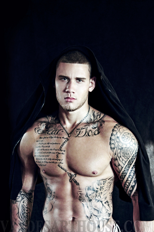Hot boys with sexy tattooed