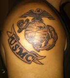 1st Tattoo 20yrs After Getting Out Marine Corps Tattoos