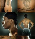 Marquis Daniels Details Tattoos