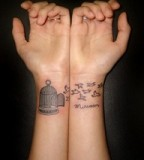 Wrist Tattoo Design For Women
