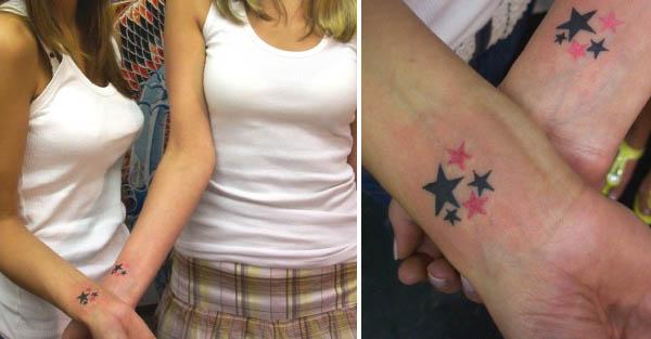 Friendship Star Tattoos