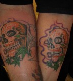 Heavy Metal Cool Matching Tattoos For Couples