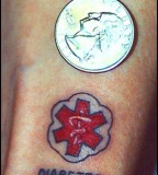 Diabetes Medic Alert Tattoo Ideas