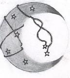 Unique Moon Star Tattoo Sketch By Aepyro666
