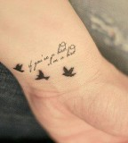 Xoxo Mia Tattoo quotes from mother