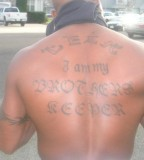 My Cuzn Tyrones Tattooleak At The Top Andi Am My Brothers
