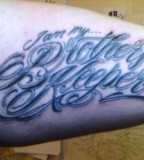 My Tattoo Iam My Brothers Keeper Photos From Cory Vines Vines On