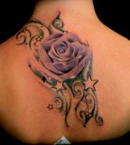 Rose Tattoos Design for Girl