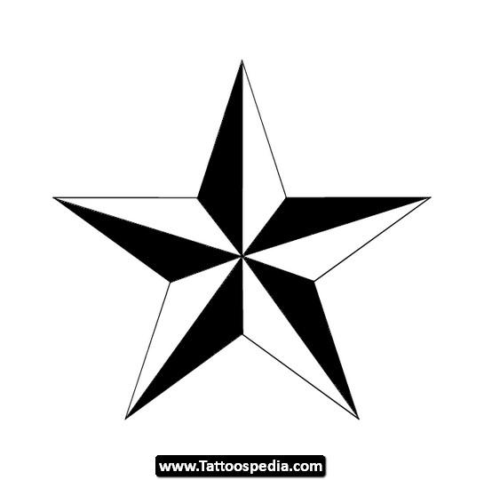 Black and white nautical star tattoo design tattoomagz black and white nautical star tattoo design urmus Gallery