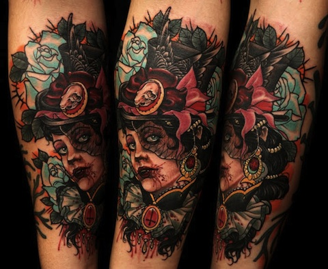 Neo Traditional Art With neotraditional tattoo