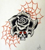 Neotraditional Tattoo Rose By Stevenworthey On Deviantart