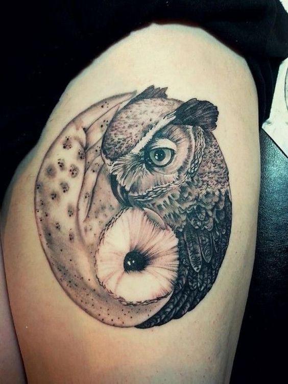 owl-yin-yang-tattoo