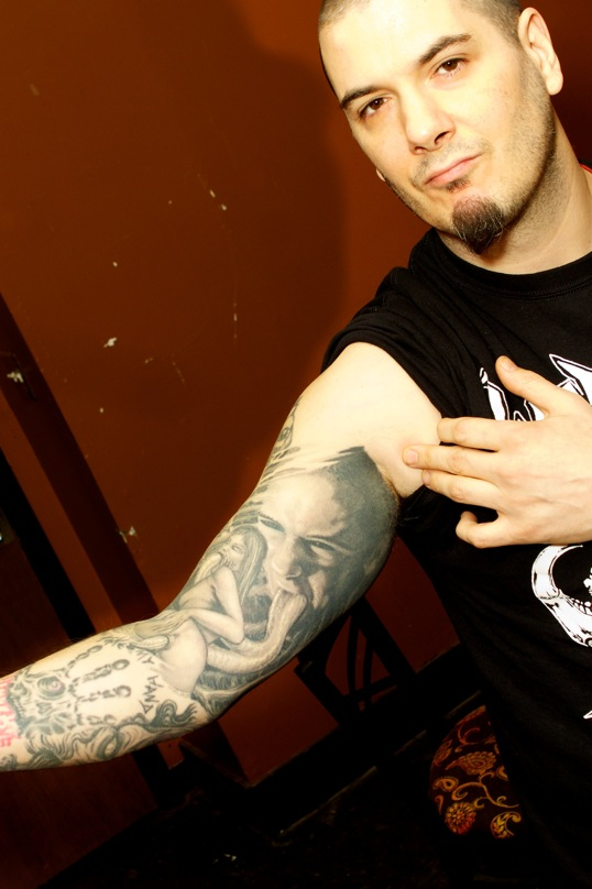 Phil anselmo tattoos