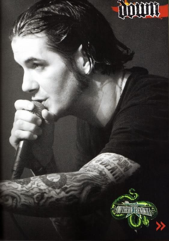 Richenda howarde richenda on myspace tattoomagz for Phil anselmo tattoos