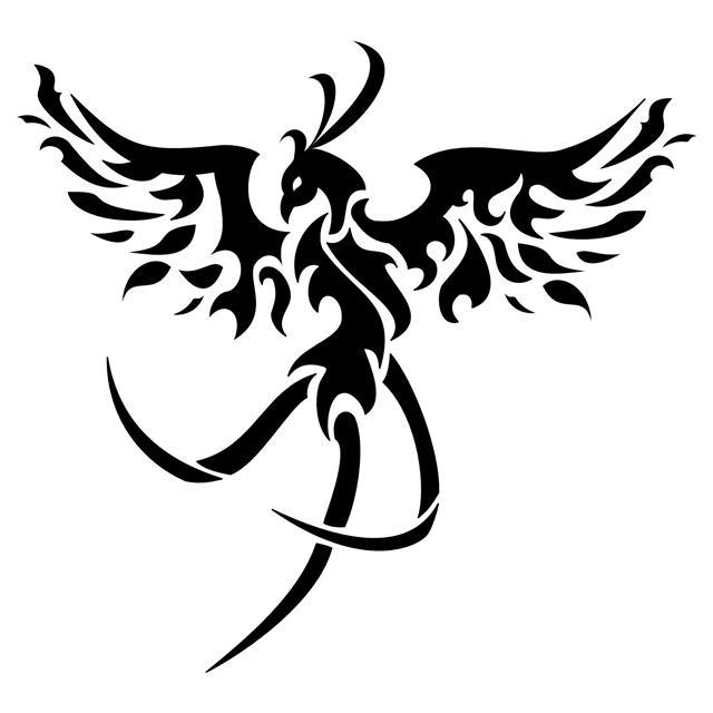 Tribal Phoenix Tattoo On Arm For Men Tattoomagz