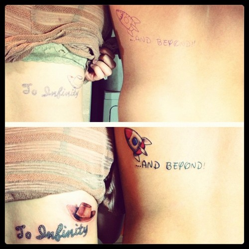 Couple Tattoo to Admire