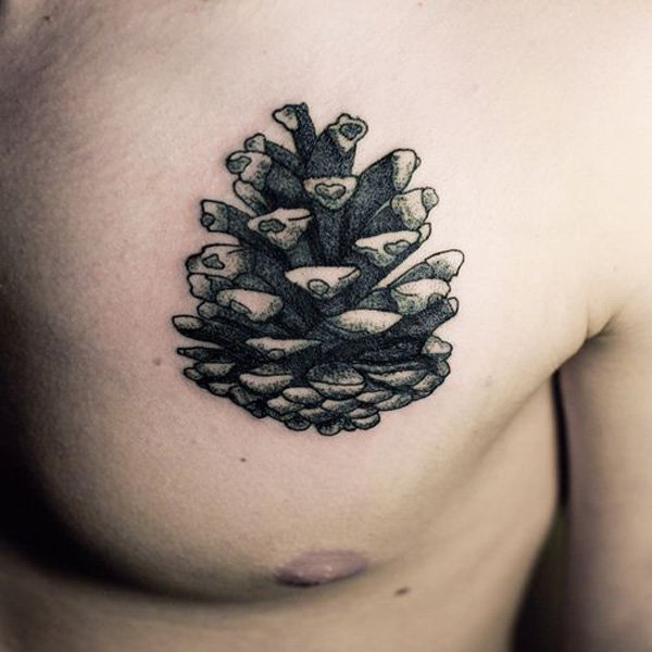 pine-cone-autumn-tattoo
