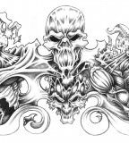 Best Quarter Sleeve Tattoo Sketch