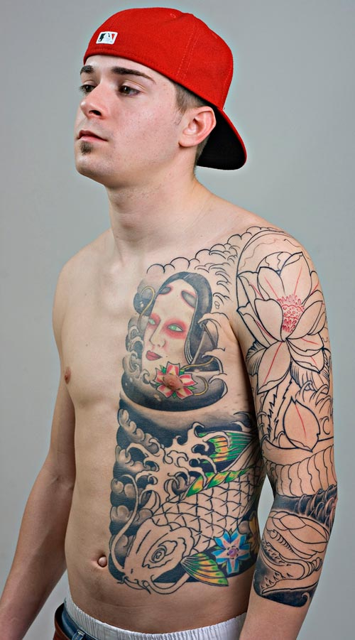 Cool Chinese Ribs Tattoo Fur Guys - TattooMagz