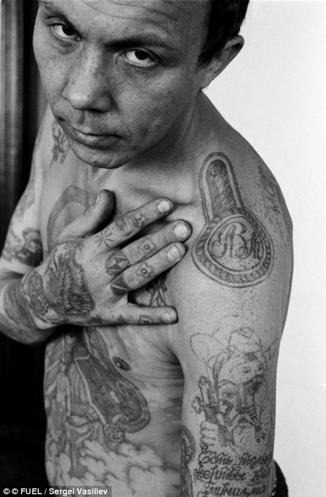 Russian Tattoo Meanings Wiki: Symbols Of A Life Of Crime The Fading Tattoos On Russias